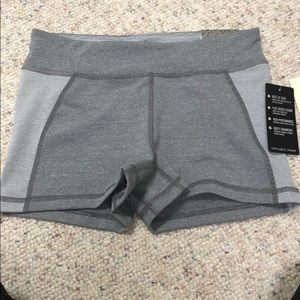 NWT Live Love Dream Grey Athletic Shorts